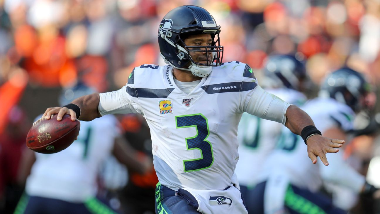 NFL MVP stock watch - Why Russell Wilson leads the top five candidates so far