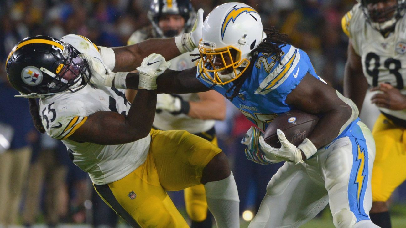 Chargers RB Melvin Gordon's solution to his slow start? More touches - NFL Nation- ESPN
