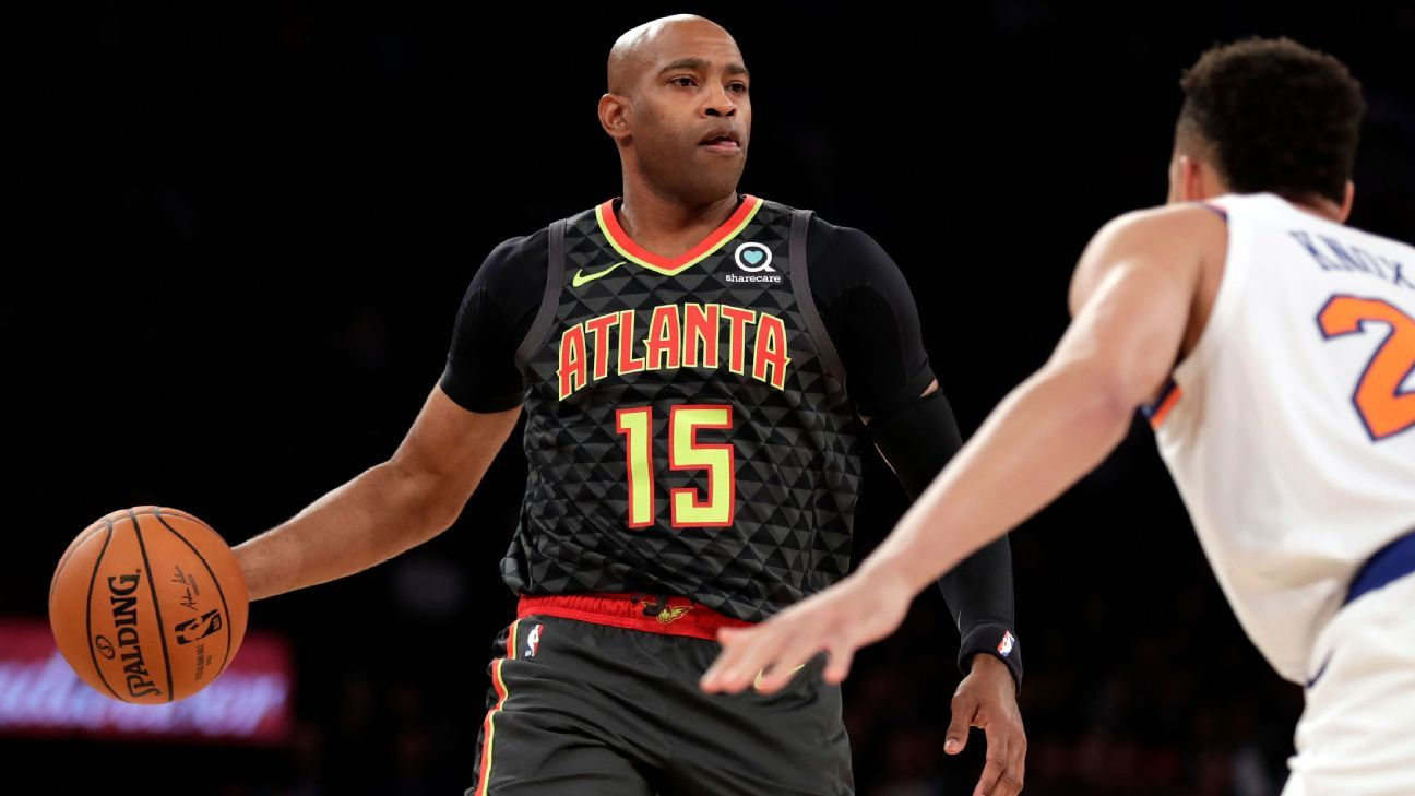 Hawks' Vince Carter wants to be available for all 82 games