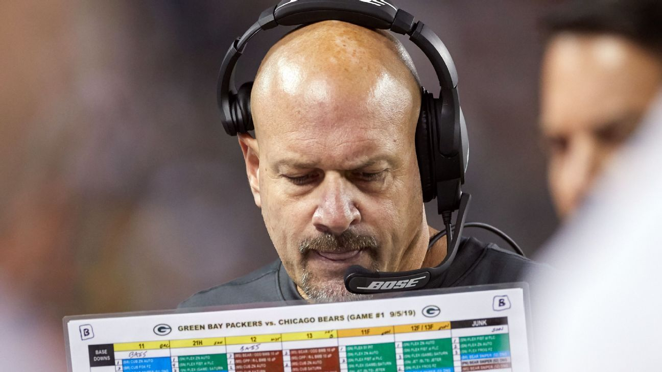 Chicago Bears hire former Green Bay Packers defensive coordinator Mike Pettine as senior assistant - ESPN
