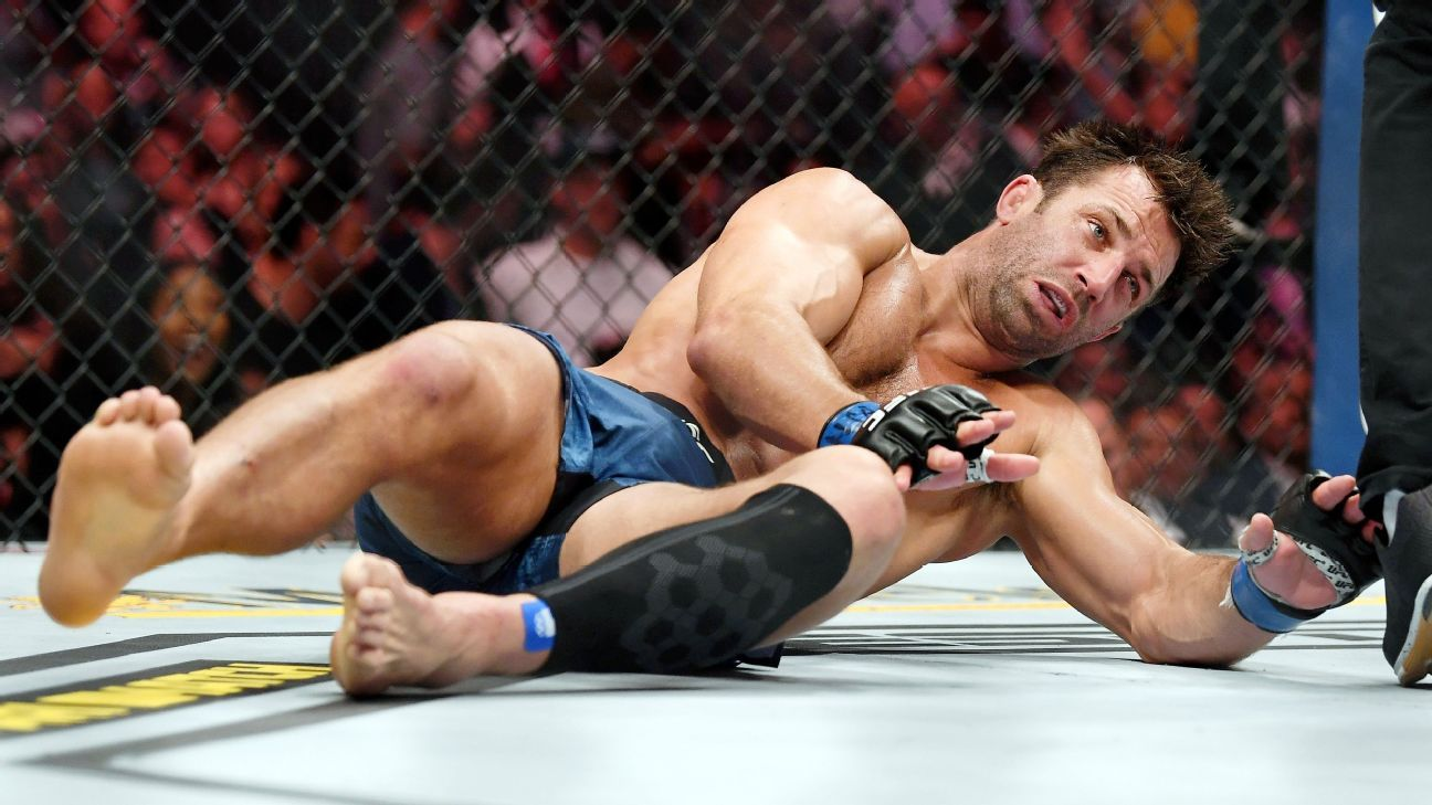 Luke Rockhold says he's not interested in another fight at this time