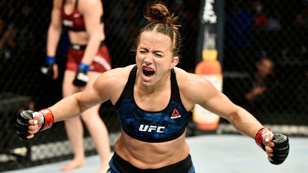 Maycee Barber set to fight Roxanne Modafferi at UFC 246