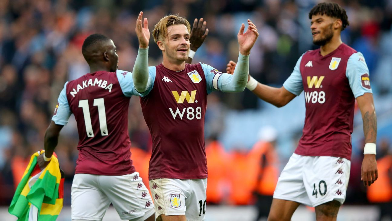 Villa fight back to secure last-gasp win over 10-man Brighton