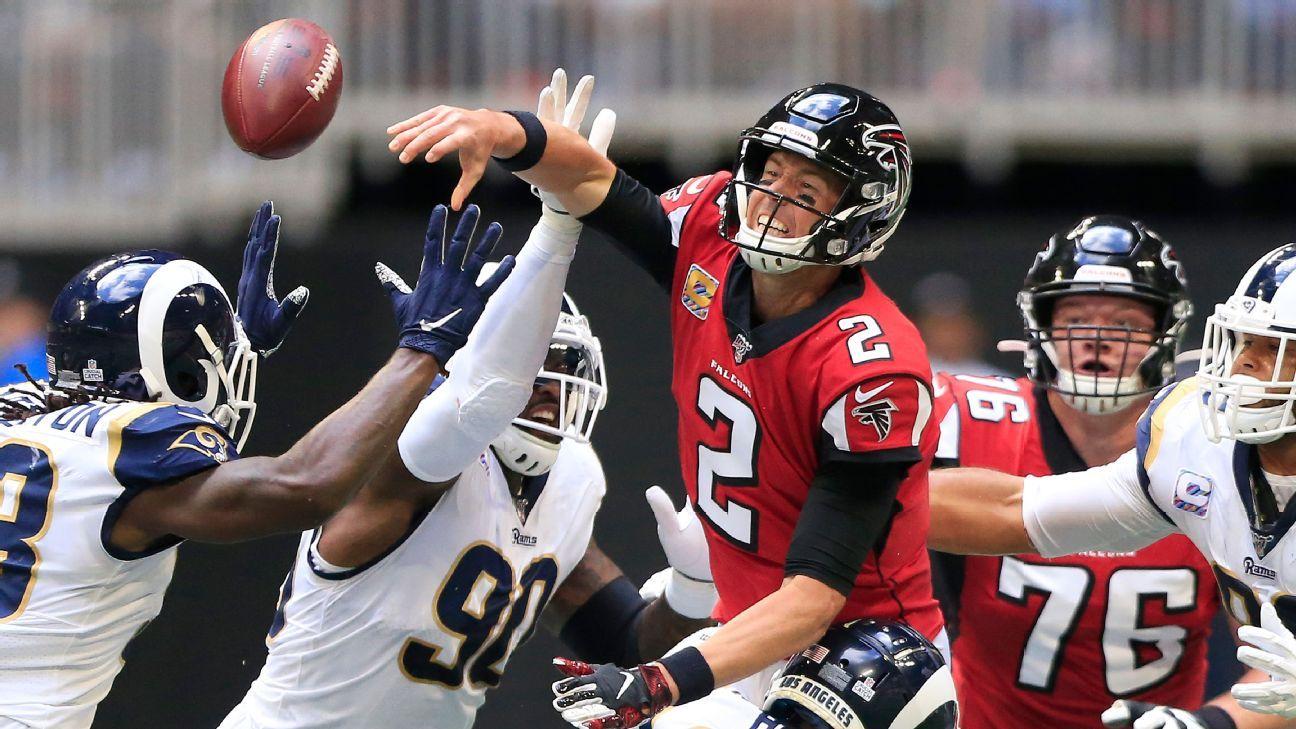 Falcons QB Ryan to undergo MRI, source says