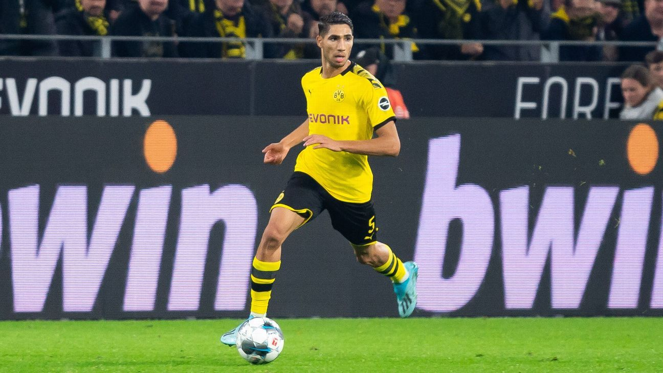 Battle brewing between BVB, Bayern for Real Madrid loanee Hakimi