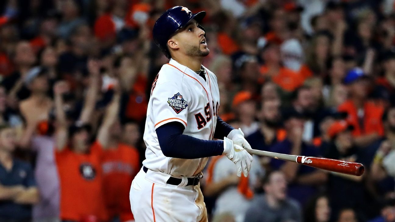 AJ Hinch says George Springer made 'an honest mistake' on late double
