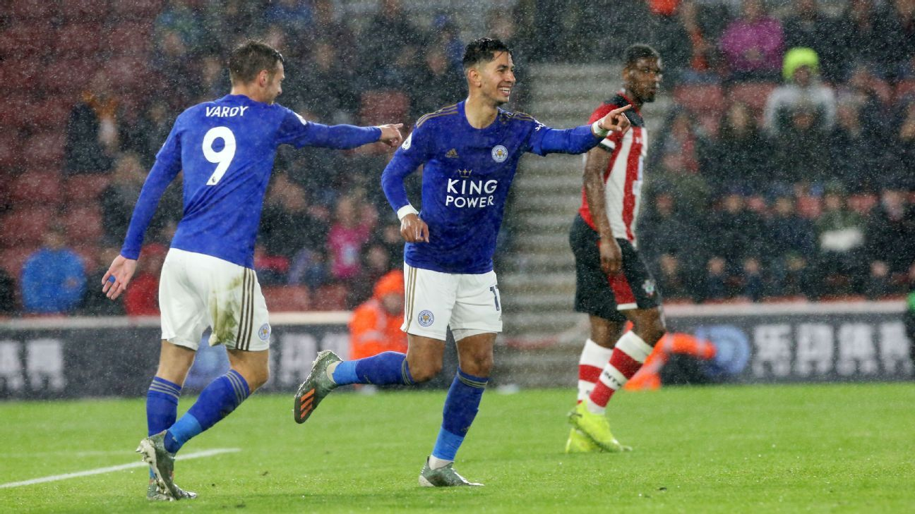 Southampton Vs Leicester City Football Match Summary October 25 2019 Espn