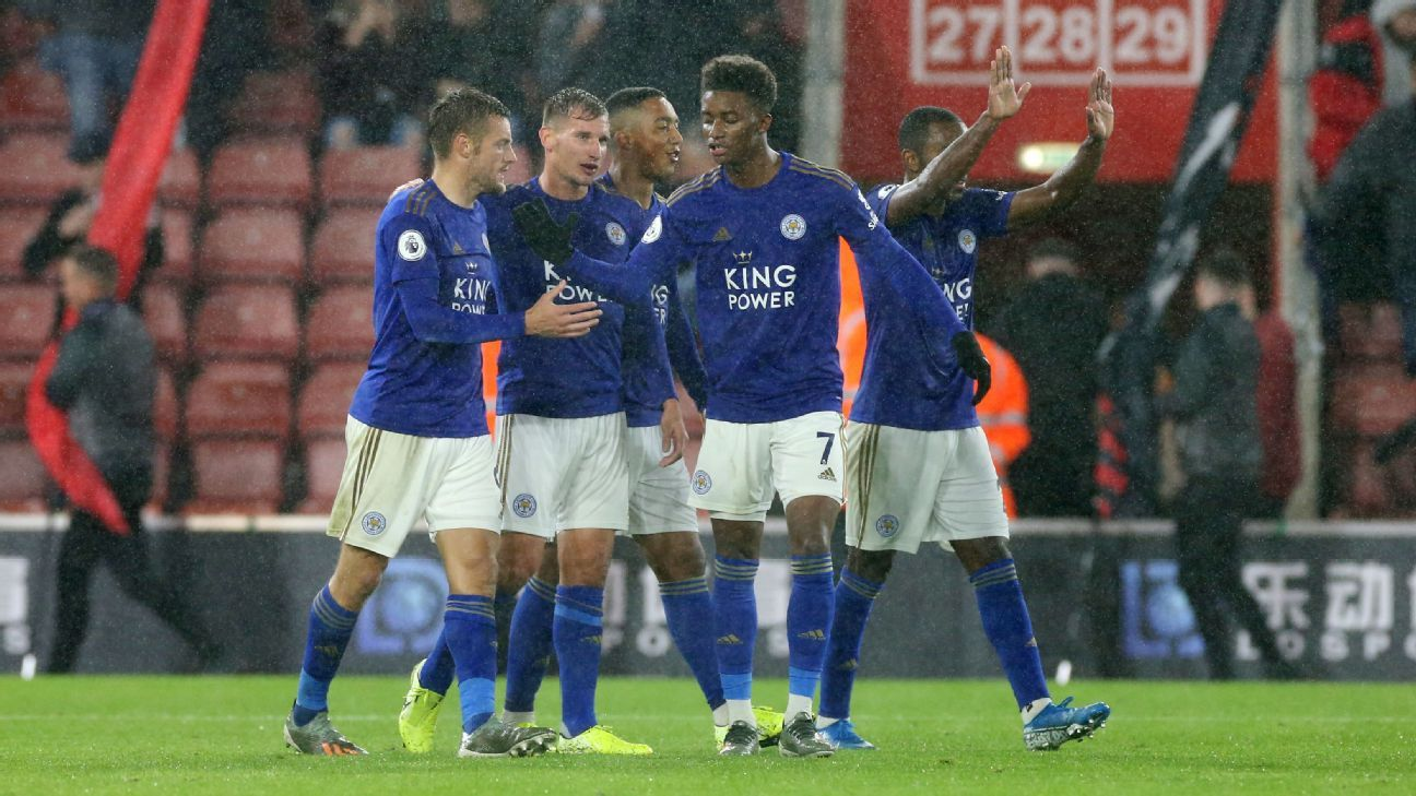 Social media reacts to Leicester's record-breaking nine-goal barrage at Southampton