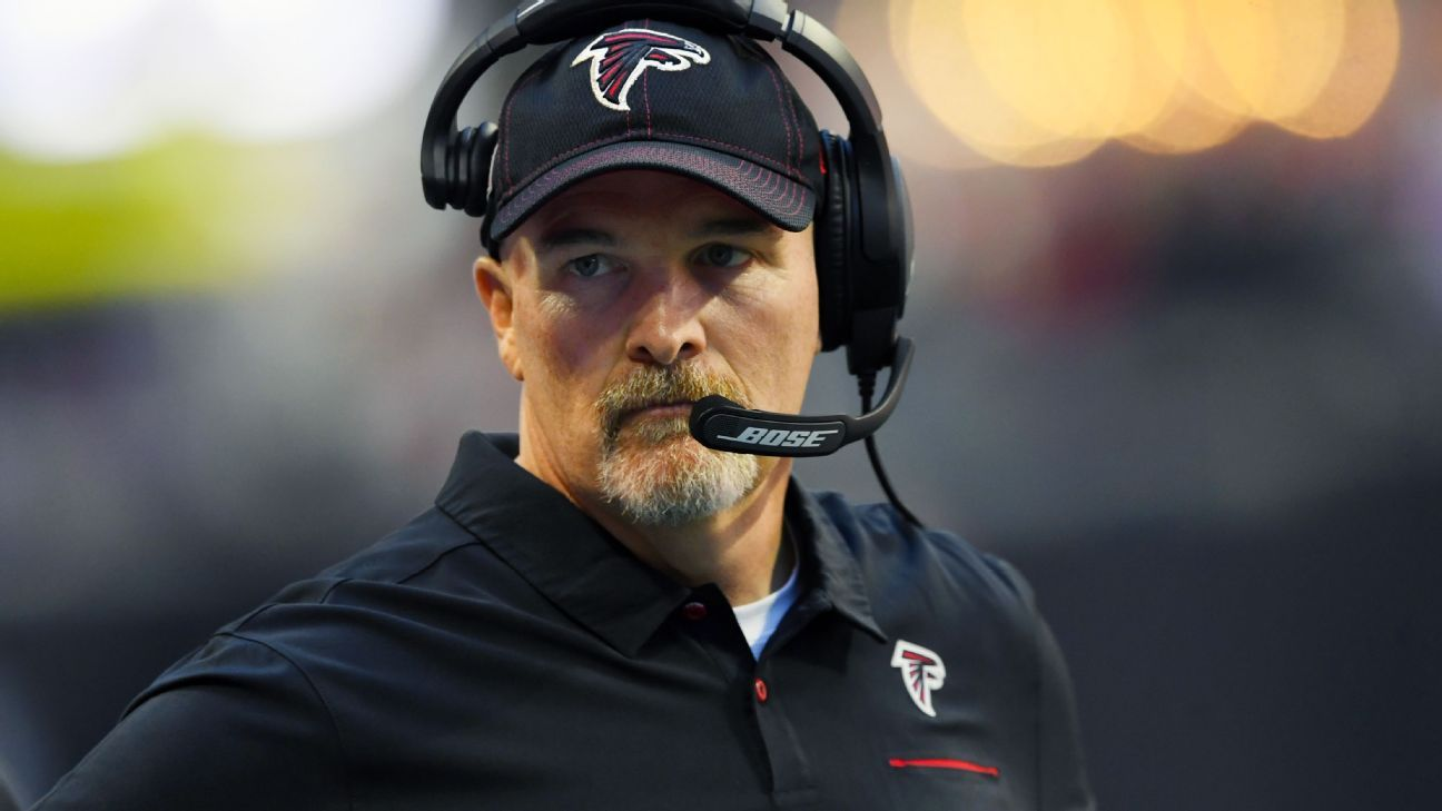 Falcons' Quinn reassigns 3 assistants on staff