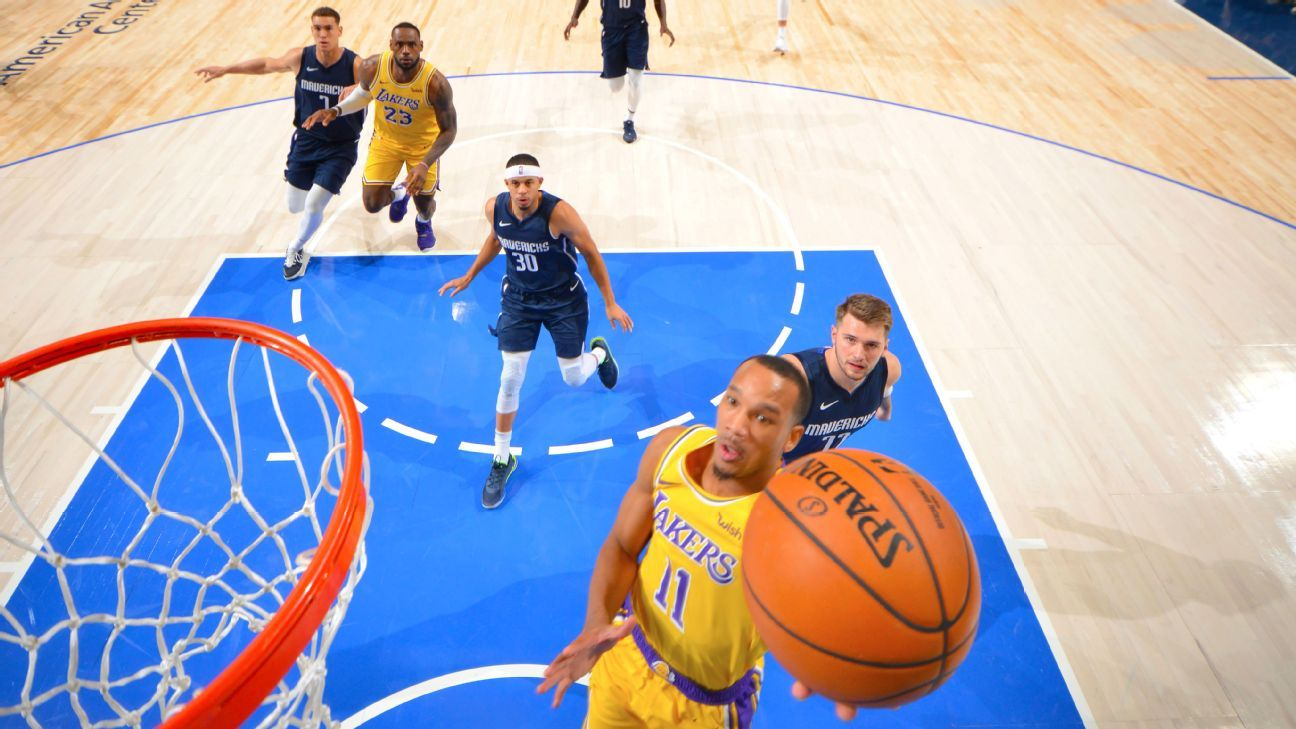 Avery Bradley to remain out during Lakers' road trip