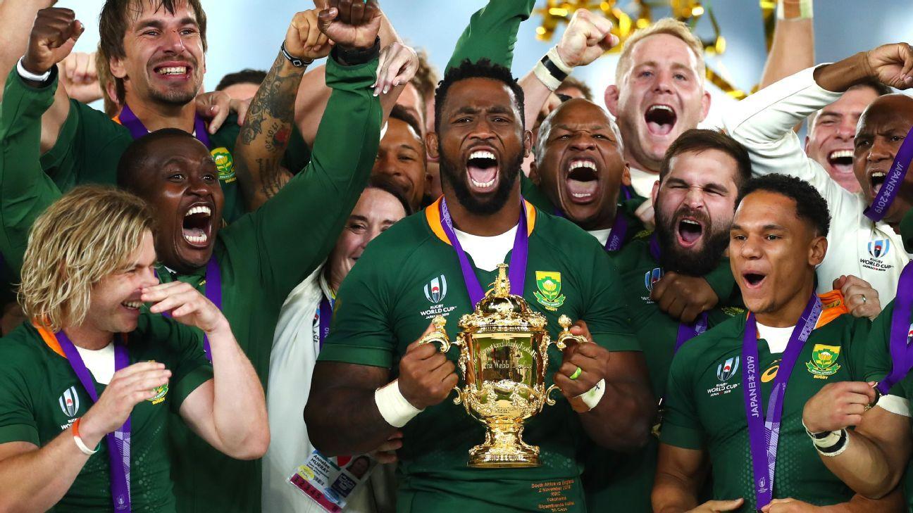 Rugby World Cup final: Federer leads social media praise for Springboks
