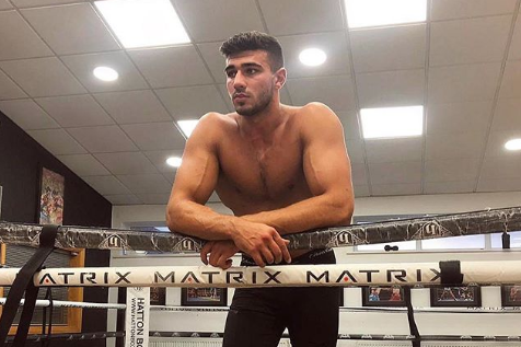 Tommy Fury announces return to ring in December