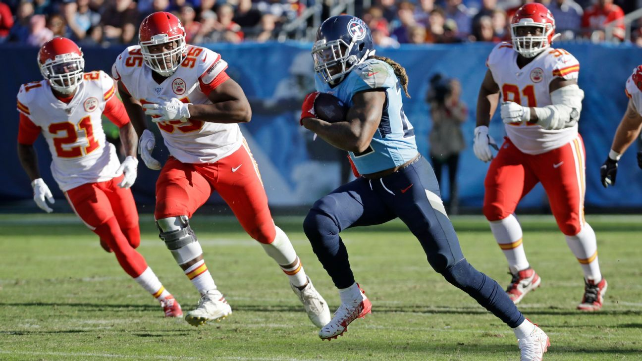 Chiefs sound drained at mere prospect of facing Derrick Henry again