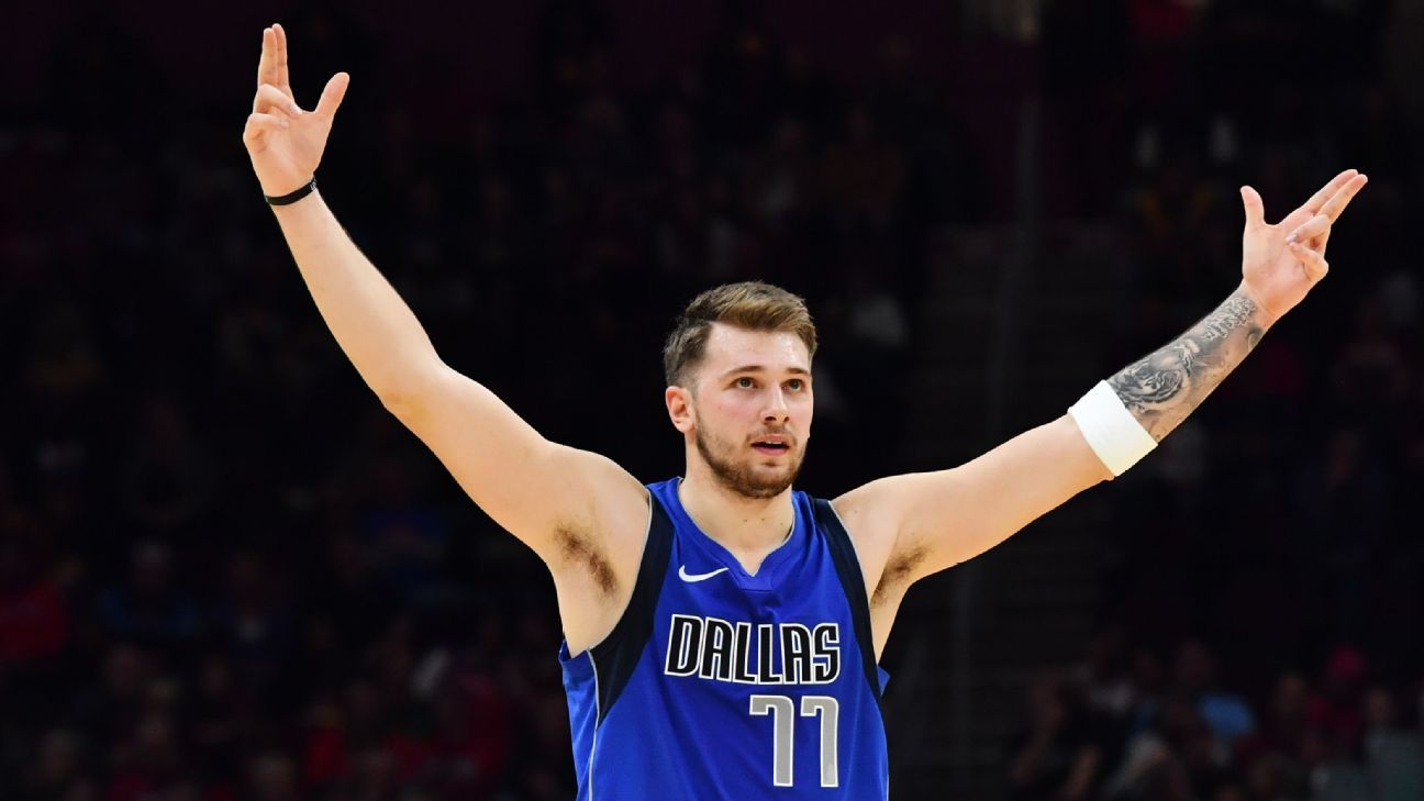 Image result for luka doncic 35 point triple double