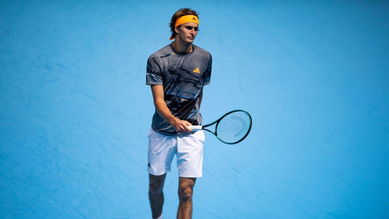 Alexander Zverev denies using phone during ATP Finals defeat