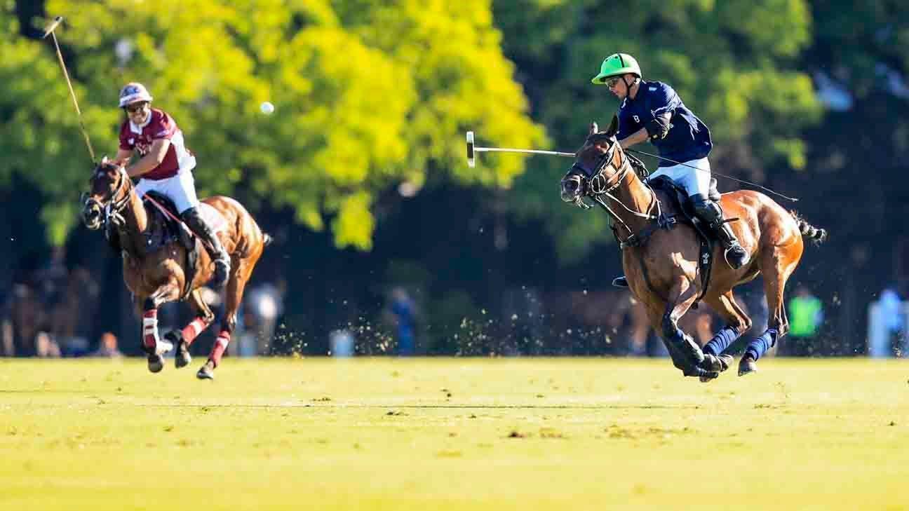 La Dolfina Polo Ranch le ganó 17-9 a La Aguada en el Abierto de Palermo - ESPN