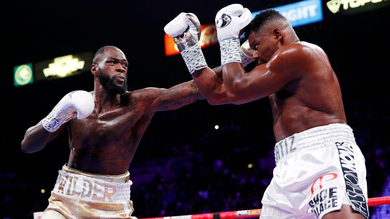 Deontay Wilder KO's Luis Ortiz in 7th round to retain heavyweight title - ESPN Philippines