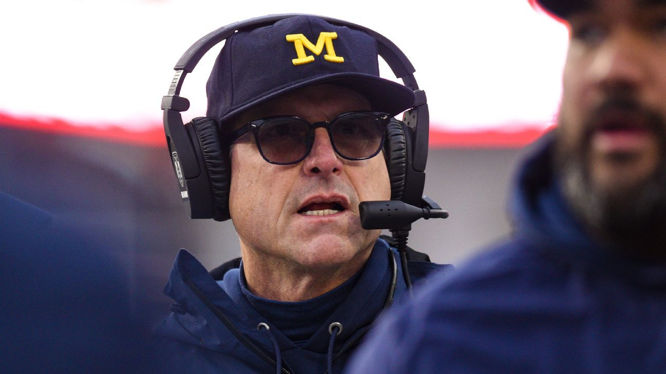 Even with loss to Indiana and 1-2 record Michigan's Jim Harbaugh says Wolverines just need to 'push forward keep going' – ESPN