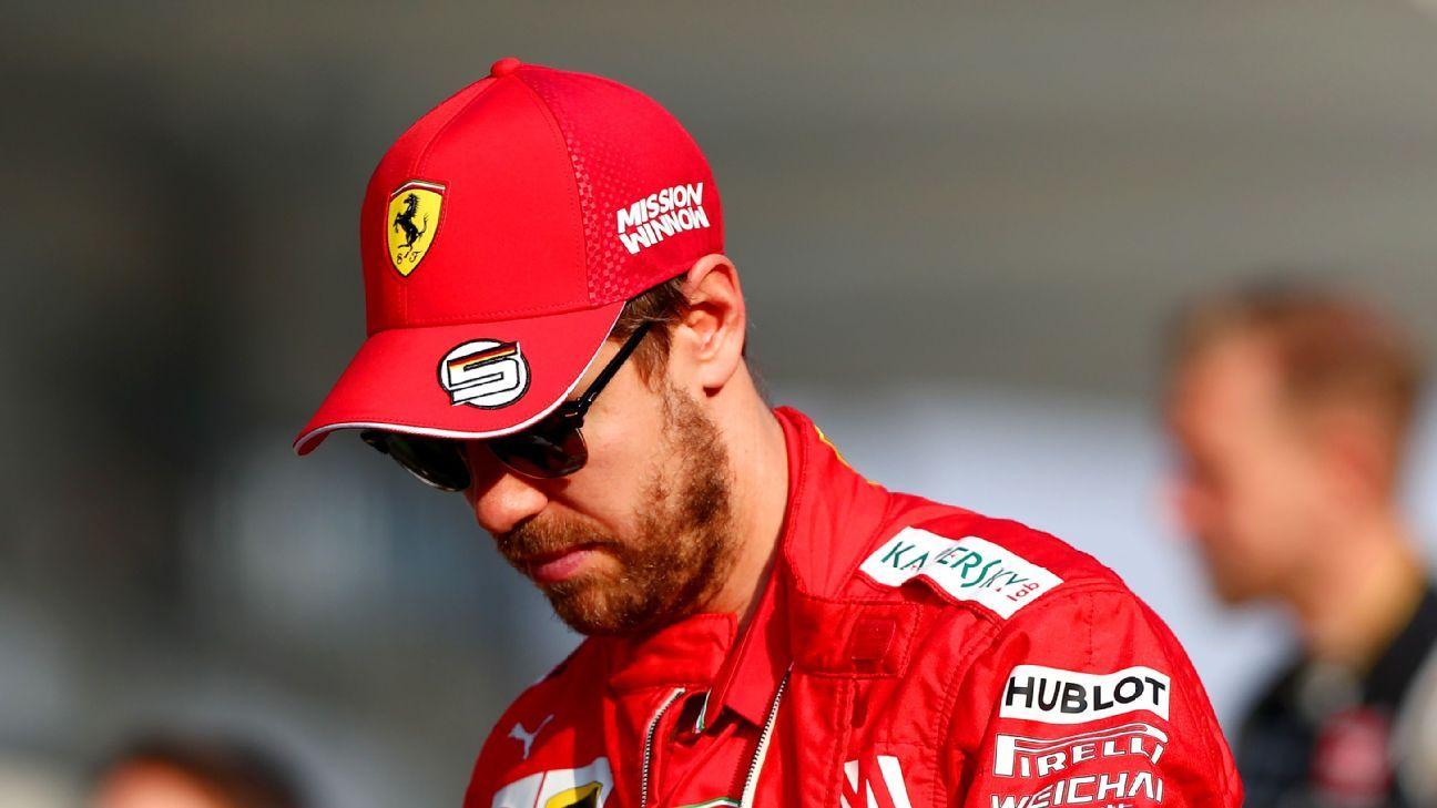Sebastian Vettel: I must do better in 2020