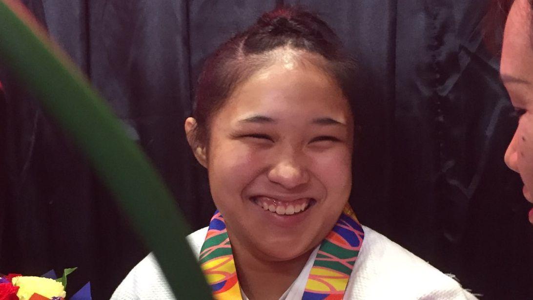Mariya Takahashi retains title in judo -70kg division