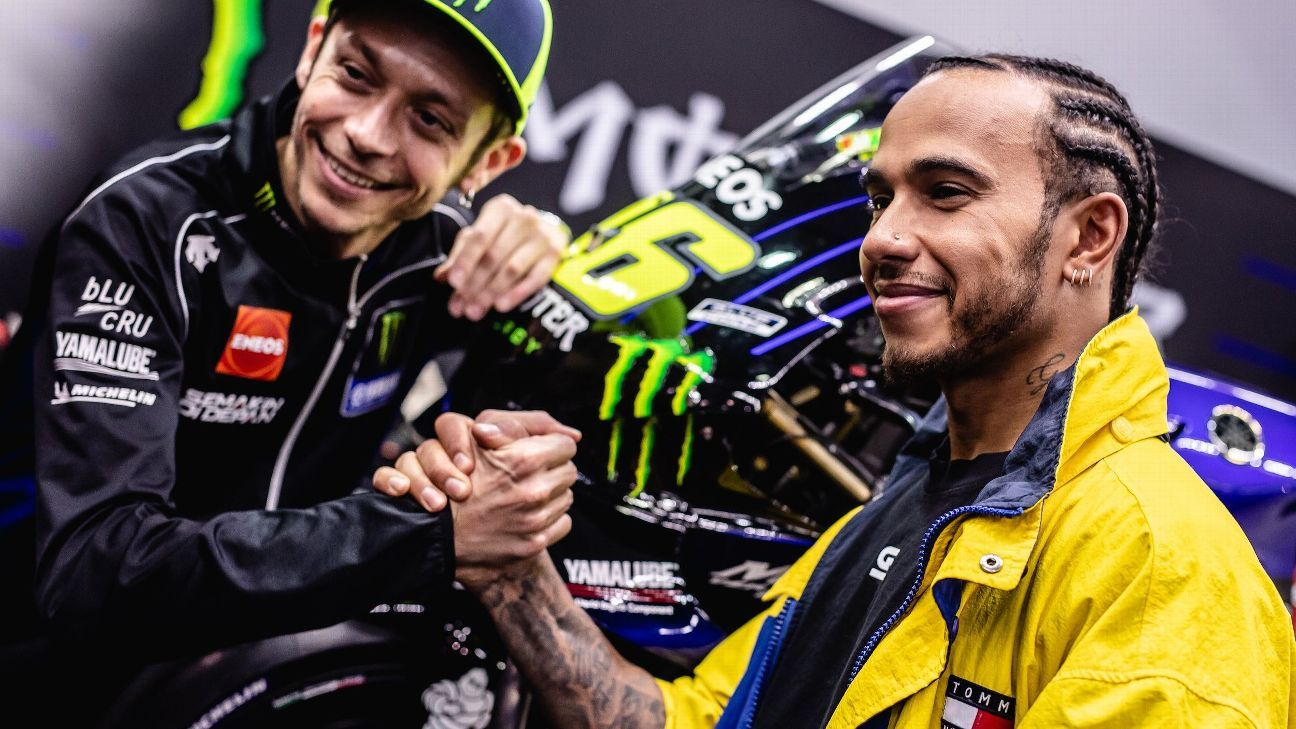 F1 news roundup: Valentino Rossi gets seat fitting at Mercedes