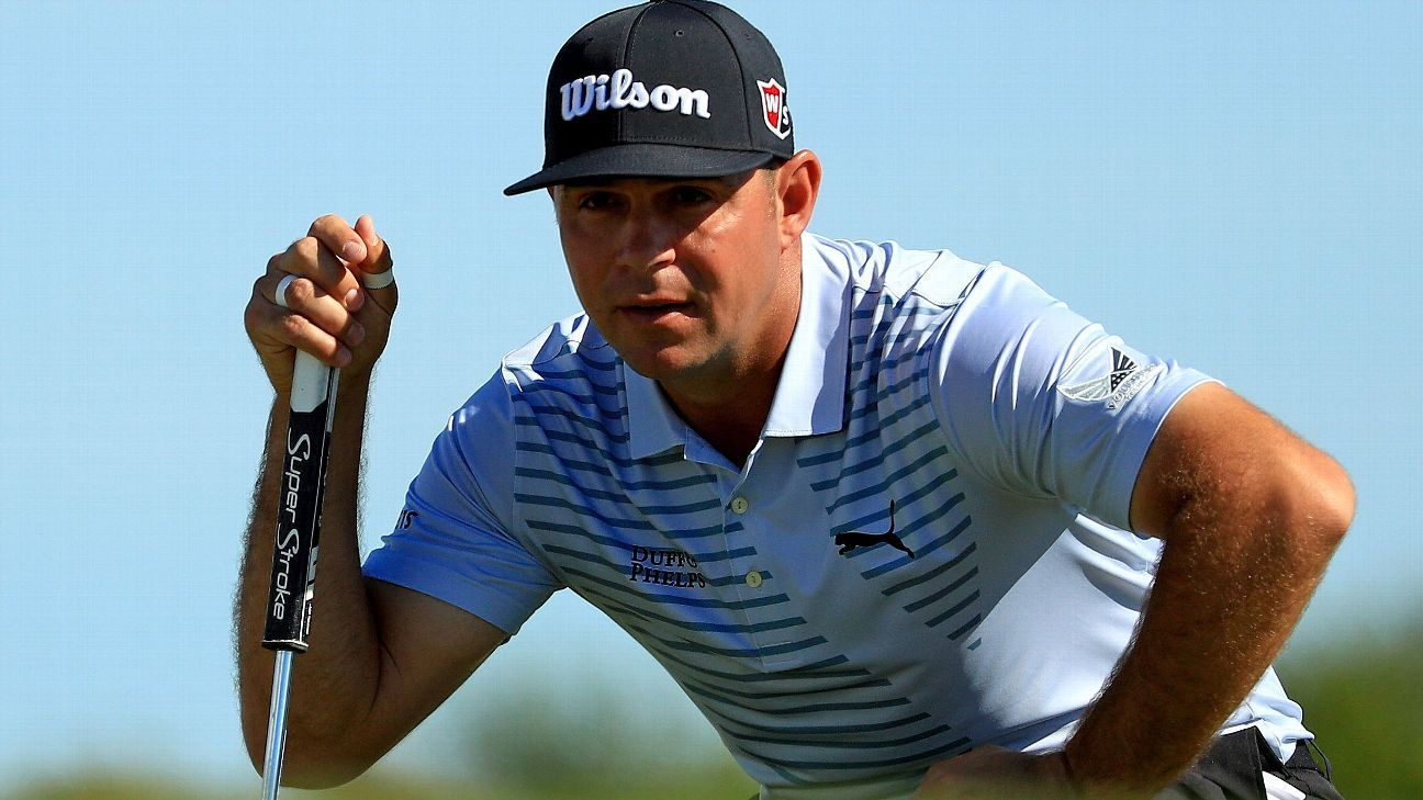 Gary Woodland leads in the Bahamas as Tiger Woods gets within 2 shots