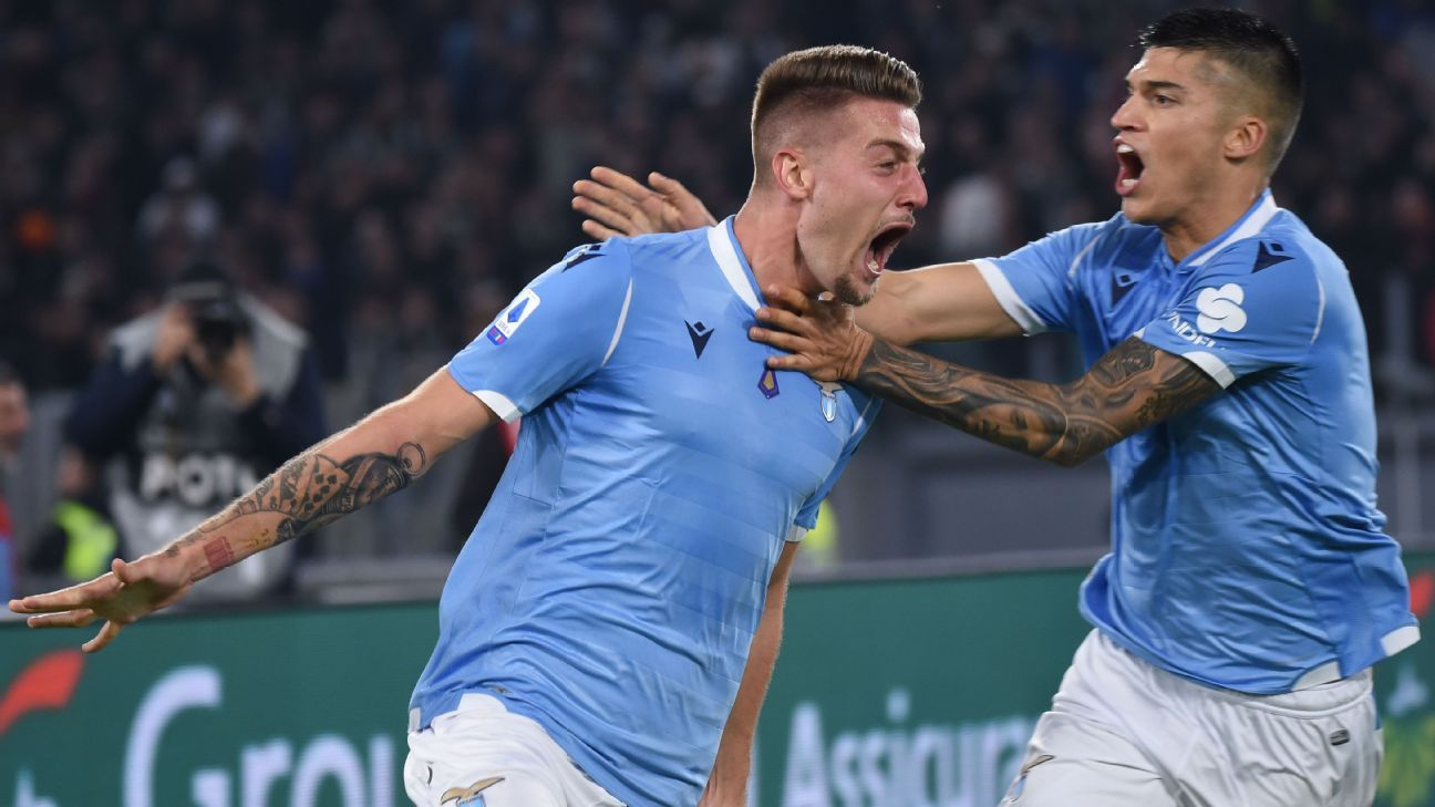 Juventus shocked by Lazio on controversial red