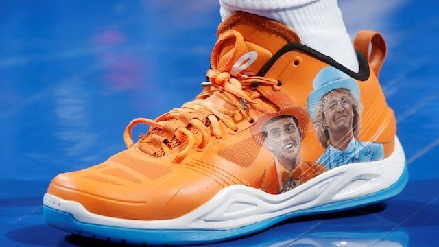 Which player had the best sneakers in the NBA during Week 7?
