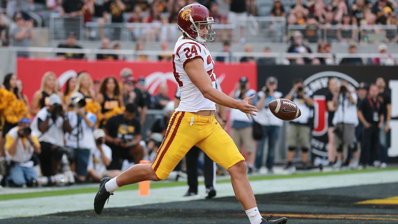 """Former Tiger Ben Griffiths could be """"the best punter"""" in the U.S."""