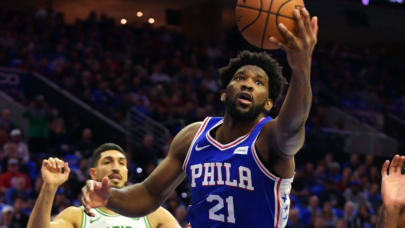 76ers' Joel Embiid agrees with Charles Barkley and Shaquille O'Neal criticism