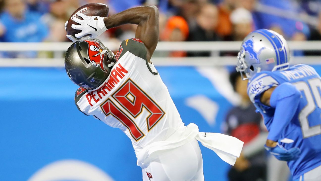 Bucs WR Breshad Perriman has career day against dad's ex-team