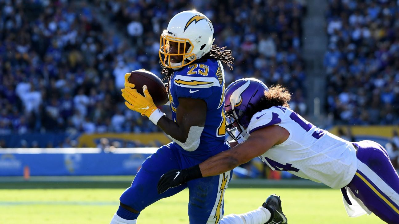 Chargers cratering, but Mike Williams blossoming into elite WR
