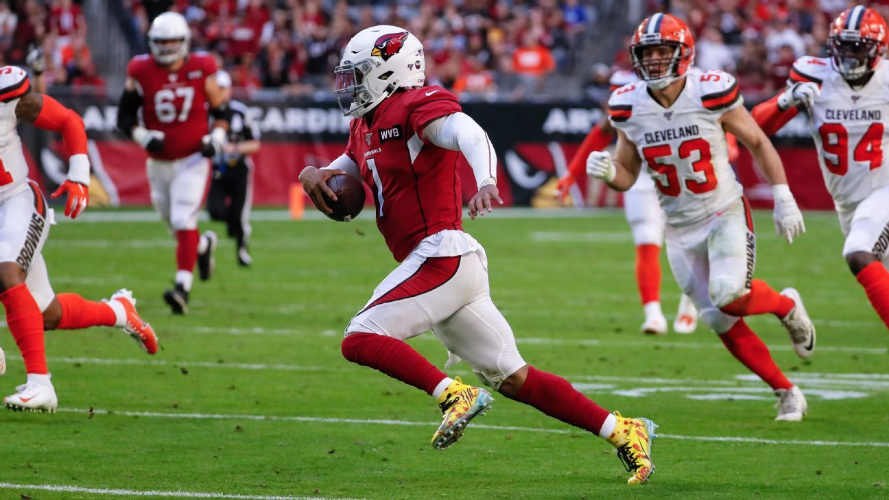 Cardinals win gives Kyler Murray bragging rights over Baker Mayfield