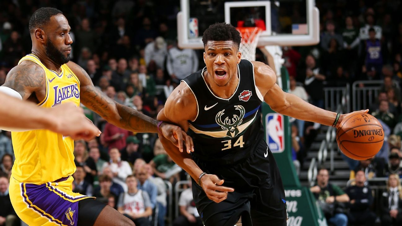 Giannis Antetokounmpo After Leading Bucks To Win Over Lakers
