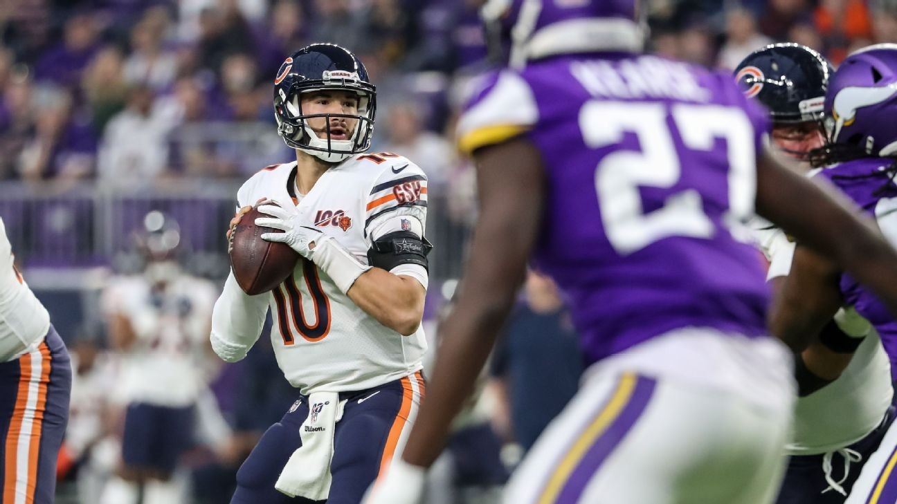 Bears expected to name Mitchell Trubisky as starting QB source says – ESPN