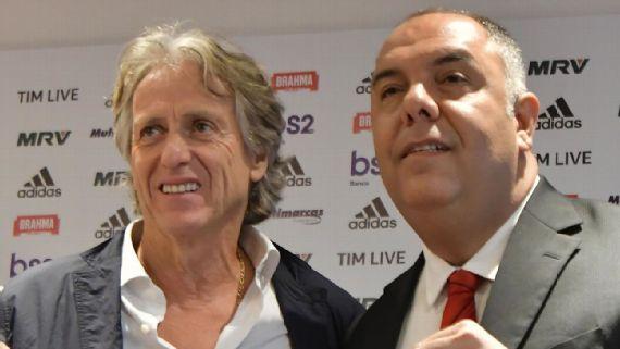 Marcos Braz: Benfica não falou com Flamengo sobre Jesus, mas cada um faz as suas negociações como entende melhor