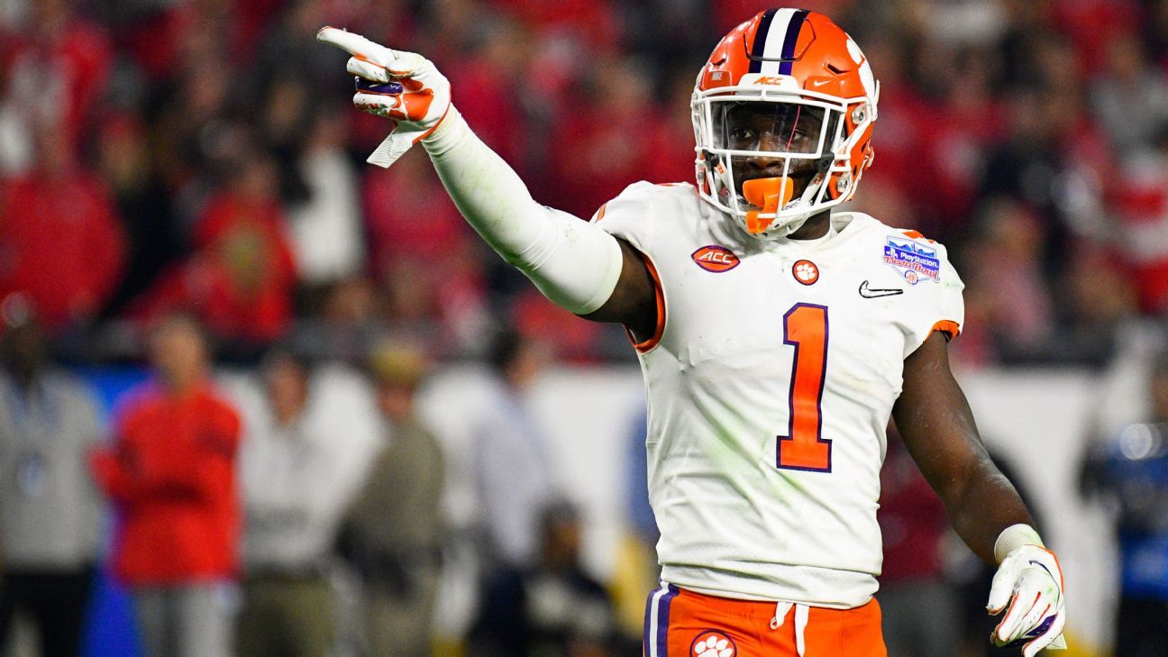 Clemson Tigers to be without three starters vs. Wake Forest; no reason given – ESPN