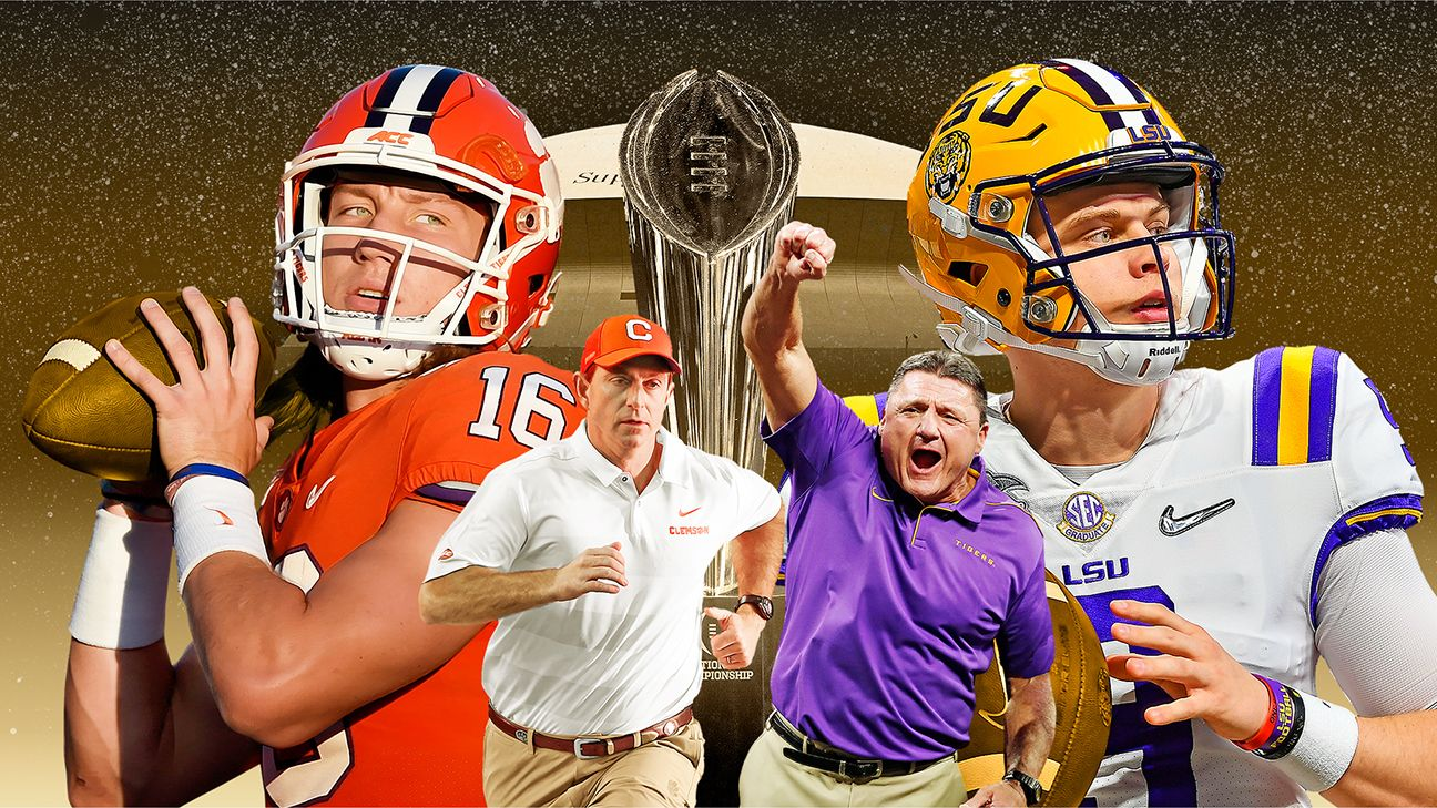 What you need to know for the LSU-Clemson national championship game