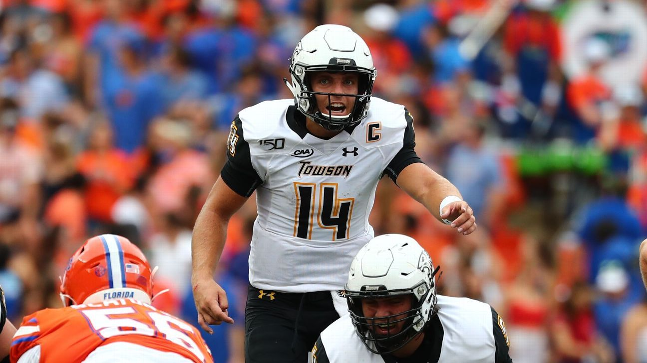 Towson's Tom Flacco leads National team to victory in Tropical Bowl