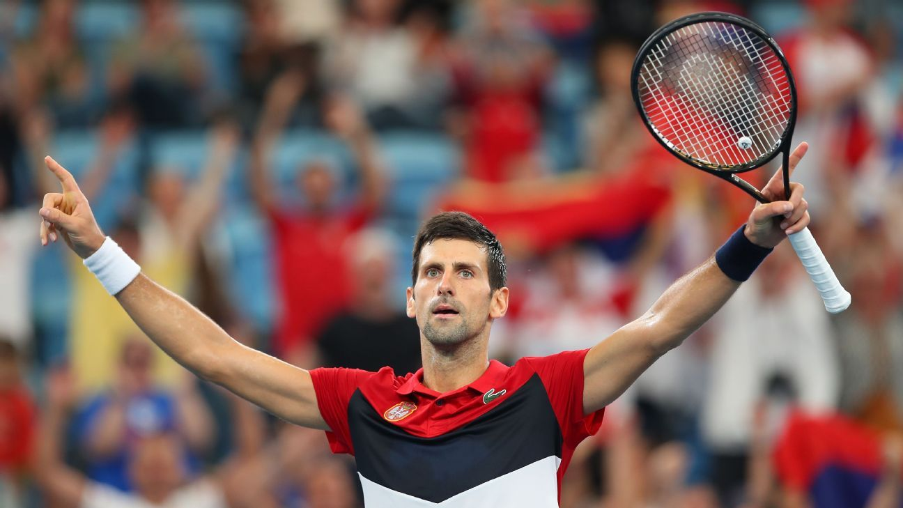 Novak Djokovic Says Australian Open Is Wide Open