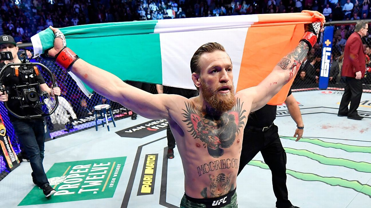 McGregor takes out Cerrone in 40-second TKO