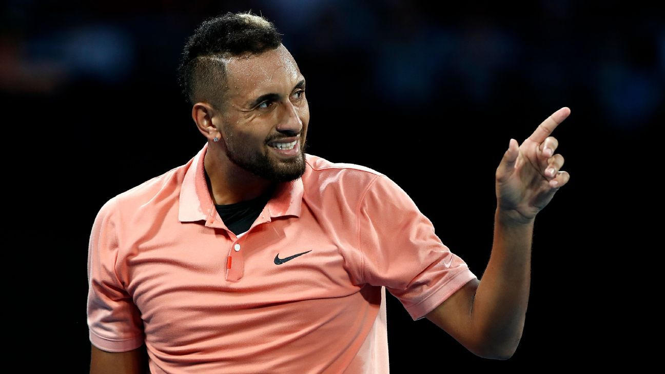Nick Kyrgios cruises, John McEnroe joins bushfire pledge