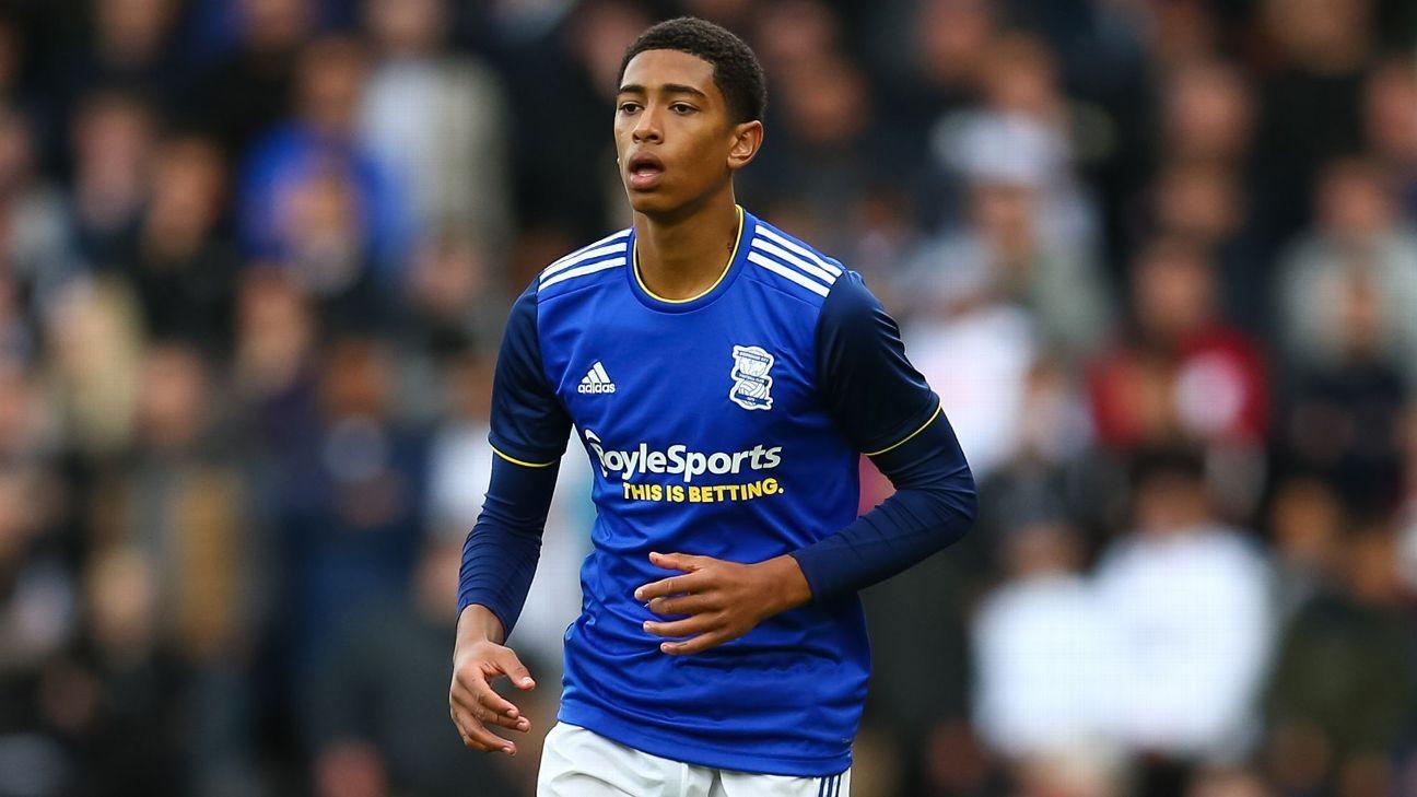 Man United eye Birmingham teenager Bellingham for £25m - sources - ESPN