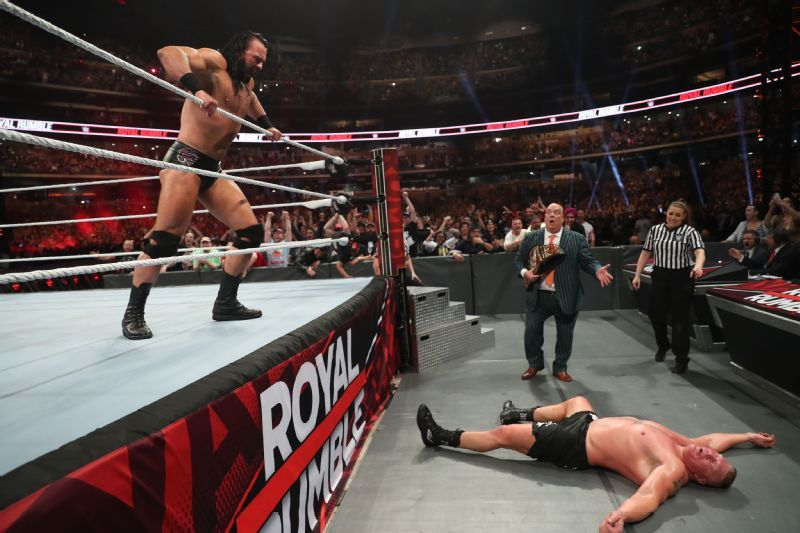 McIntyre's long journey home and Flair's family legacy realized at Royal Rumble