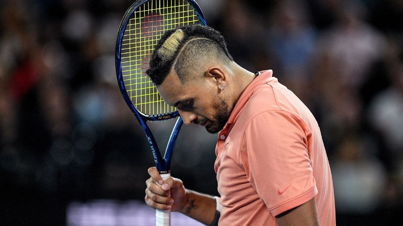 Kyrgios (shoulder) pulls out of New York Open