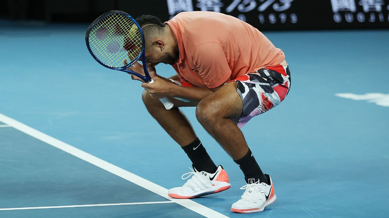 Nick Kyrgios earned the respect of fans and foes during the Australian Open