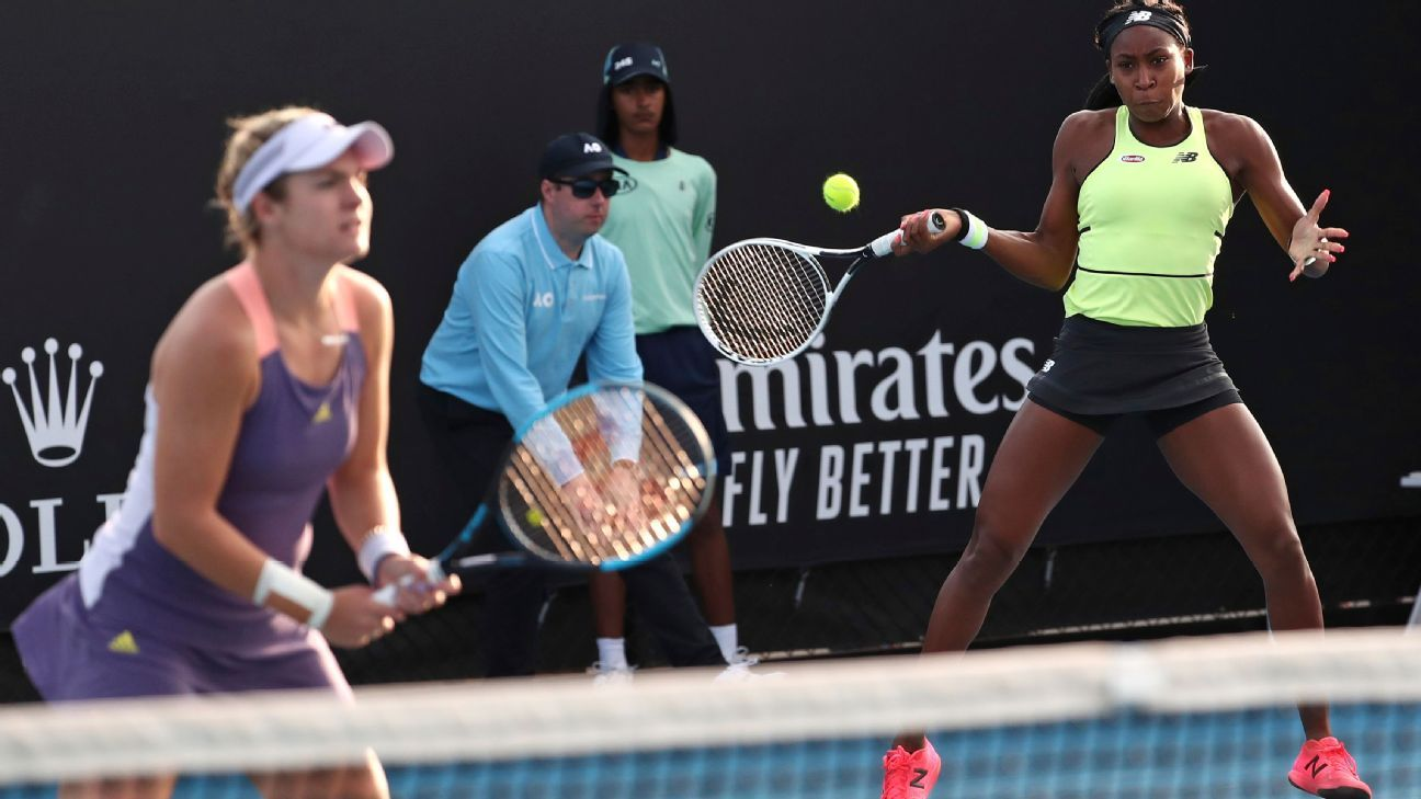 Coco Gauff, Caty McNally lose in doubles quarterfinal at Australian Open