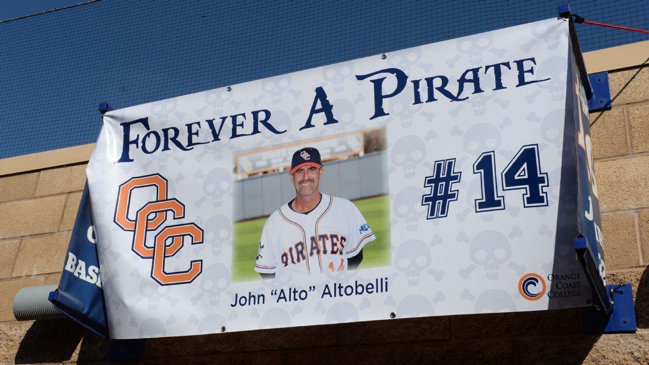 Baseball coach killed in crash honored at opener