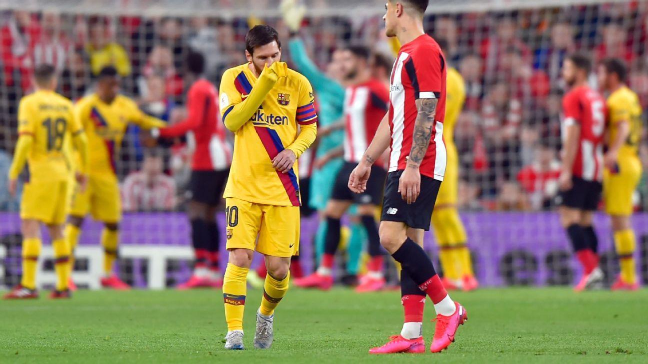 Athletic Bilbao vs. Barcelona - Reporte del Partido - 6 ...