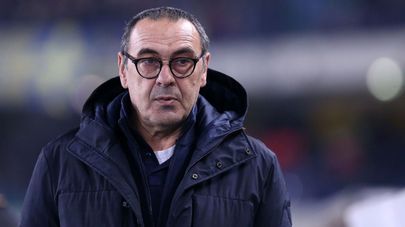 Juve's Sarri won't fret on future after UCL exit